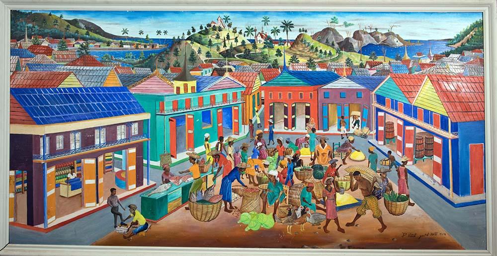 Market Day, Jacmel, Haiti